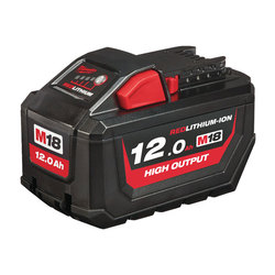 Milwaukee M18HB12 HIGH OUTPUT 12 Ah REDLithium Battery