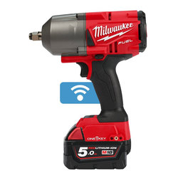 "Milwaukee M18ONEFHIWF12-502X 'ONEKEY' 1/2"" Friction Ring Impact Wrench"