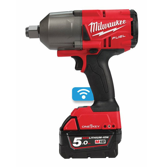 "Milwaukee Power Tools, Milwaukee M18ONEFHIWF34-502X 'ONEKEY' 3/4"" Friction Ring Impact Wrench"