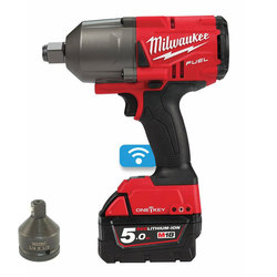 "Milwaukee M18ONEFHIWF34-502X 'ONEKEY' 3/4"" Friction Ring Impact Wrench"
