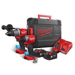 Milwaukee M18ONEPP2A2-502X 'FUEL' ONE-KEY Power Pack