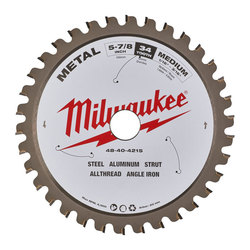 Milwaukee Metal Cutting Blade 150 mm 34 Tooth
