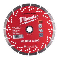 Milwaukee SPEEDCROSS HUDD 230 Diamond Blade