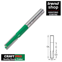 Trend C007L CraftPro Pocket Cutter 6.3 mm