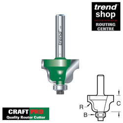 Trend C087 CraftPro Guided Roman Ogee 6.3 mm Radius