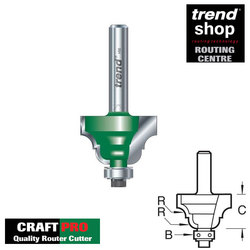 Trend C091 CraftPro Guided Classic Ogee 6.3 mm Radius