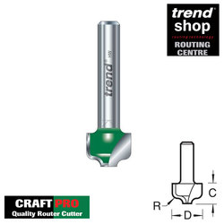 Trend C107 CraftPro Ogee Panel 2 mm Radius