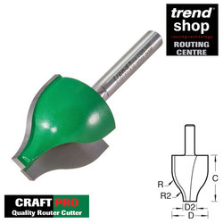 Trend C151 CraftPro Vertical Ogee Panel Raiser 22 mm Radius