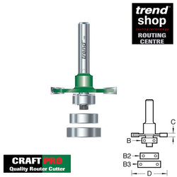 Trend C152 CraftPro Biscuit Jointer Set