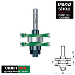 Trend C158 CraftPro Guided Tongue & Groove Set