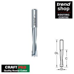 Trend C176 CraftPro Dowel Drill 8 x 35 mm