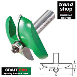 Trend C183 CraftPro Guided Large Radius Panel Raiser