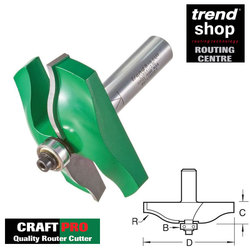 Trend C184 CraftPro Guided Ogee Panel Raiser