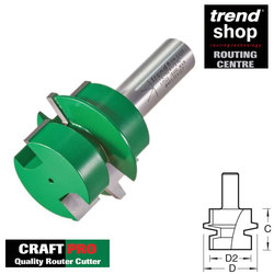 Trend C192 CraftPro Offset Tongue & Groove