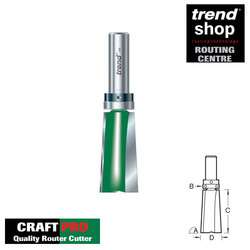 Trend C214 CraftPro Bearing Guided 3 Degree Door Leading Edge