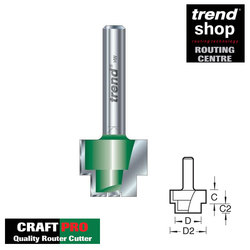 Trend C231 CraftPro Rebate Cutter 9.5 / 19 mm