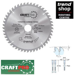 Trend CSB/CC30564 Crosscutting Blade 305mm 64 Tooth BOGOF