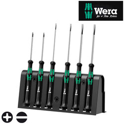 Wera 2035/6A Kraftform MICRO Screwdriver Set