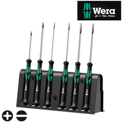Wera 2035/6B Kraftform MICRO Screwdriver Set