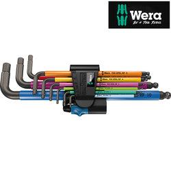 Wera Hex-Plus Multicolour L Key 9 Piece Set Metric