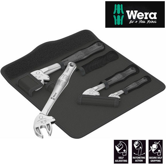 Wera JOKER 6004 4 Piece Self Setting Spanner Set