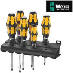Wera Kraftform Plus Chiseldriver 6 Piece Set With Rack