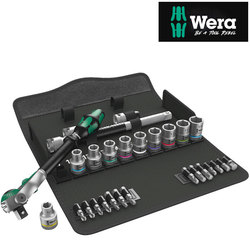 "Wera Zyklop Speed Ratchet 1/2"" Drive 28 Piece Set Metric"